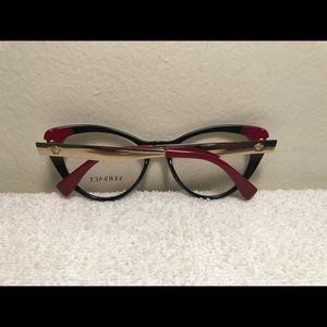08586c0a4887 Versace Accessories - Versace 5239 3244 Black Gold Red Sunglasses